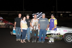 Hobby Stock July 7, 2012 Winner Dustin Filloon