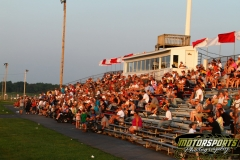 Fans enjoy the racing action on Saturday, July 9, 2011, at Boone Speedway.