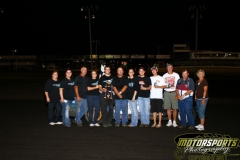 The IMCA SportMods welcomed Eric Elliott to Victory Lane on Saturday, July 9, 2011, at Boone Speedway.