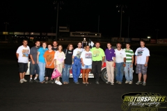 The IMCA Hobby Stock feature win went to John Watson on Saturday, July 9, 2011, at Boone Speedway.