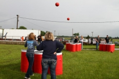 Heads up! Boone hosted giant beer pong on Saturday, June 1, 2013.