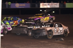 IMCA Stock Car action at Boone Speedway on Saturday, June 1, 2013.