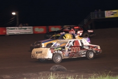 IMCA Hobby Stock action at Boone Speedway on Saturday, June 1, 2013.