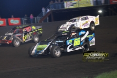Racing action from Saturday, June 11, 2011, at Boone Speedway.
