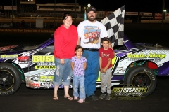 The IMCA Stock Car division welcomed Jerry Gifford to Victory Lane on Saturday, June 11, 2011.