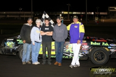 Michael Murphy claimed the checkers in the IMCA Hobby Stock division on Saturday, June 11, 2011, at Boone Speedway.