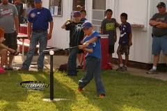 Racing Rascal members took a swing at some fun during little league night on Saturday, June 15, 2013.