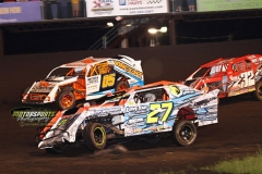 IMCA SportMod action at Boone Speedway on Saturday, June 15, 2013.