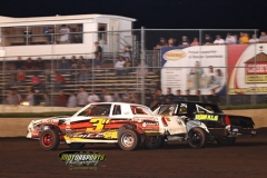IMCA Stock Car action at Boone Speedway on Saturday, June 15, 2013.