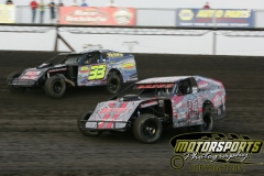 Racing action at Boone Speedway on Saturday, June 18, 2011.