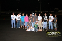 Brian Miller motored his way to the front of the IMCA Northern SportMod division to take his first win of the season at Boone Speedway on Saturday, June 18, 2011.