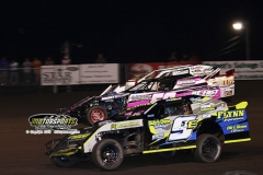 IMCA SportMod action at Boone Speedway on Saturday, June 22, 2013.