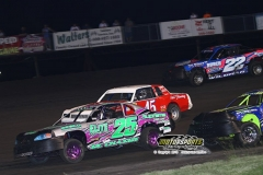 IMCA Stock Car action at Boone Speedway on Saturday, June 22, 2013.