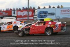 IMCA SportMod Action