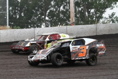 Racing action at Boone Speedway on Saturday, June 25, 2011.
