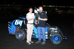 The Mod Lite division welcomed Randy Bryan to victory lane at Boone Speedway on Saturday, June 25, 2011.