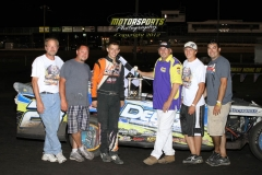June 9, 2012 SportMod Winner Nick Roberts