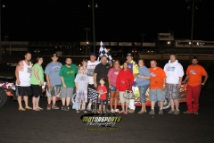 June 9, 2012 Hobby Stock Winner John Watson