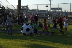 Soccer Night Action