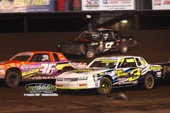 IMCA Hobby Stock action at Boone Speedway on Saturday, May 11, 2013.