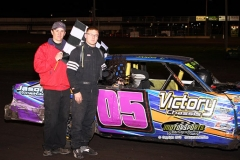 IMCA Hobby Stock driver Paul Nagle took home his first win of the season on Saturday, May 11, 2013, at Boone Speedway.