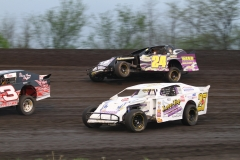 May 14, 2011, racing action at Boone Speedway.