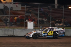 Boone Speedway welcomed Jeremy Embrey to the IMCA Northern SportMod victory lane on Saturday, May 14, 2011.