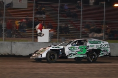 Randy Havlik takes the victory in his IMCA Modified on Saturday, May 14, 2011, at Boone Speedway.