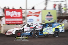 IMCA Northern SportMod action at Boone Speedway on Saturday, May 18, 2013.