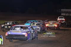 IMCA racing action at Boone Speedway on Saturday, May 18, 2013.