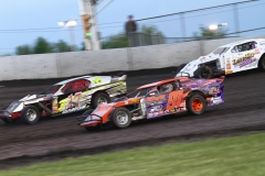 Racing action from Saturday, May 21, 2011, at Boone Speedway.