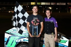 Colby Oberembt was the champion in the MADCRA Dwarf car division on May 28, 2011.