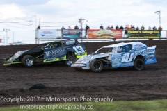 IMCA Northern SportMod action