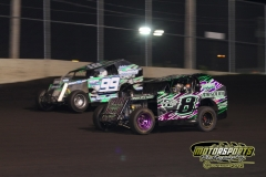 Mod LIte action from Boone Speedway on Saturday, May 5, 2012.