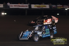 IMCA SportMod action at Boone Speedway on Saturday, May 5, 2012.