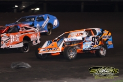 IMCA Modified action at Boone Speedway on Saturday, May 5, 2012.
