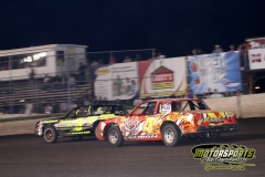 Hobby Stock action from Saturday, May 5, 2012, at Boone Speedway.