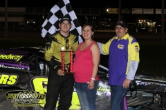 Saturday, May 5, saw a first place finish for Jonathan Snyder in the IMCA Modified division at Boone Speedway.