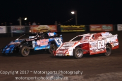 IMCA Northern SportMod action
