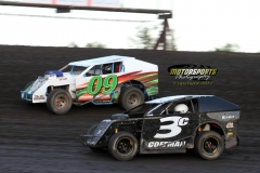 Memorial Day Mod Lite action at Boone Speedway on Monday, May 28, 2012.