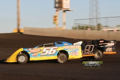 Deery Brothers Summer Series Late Model Action at Boone Speedway on Monday, May 28, 2012.