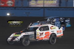 IMCA Northern SportMod action on Monday, May 28, 2012, at Boone Speedway.