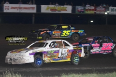 IMCA Stock Car action at Boone Speedway on Monday, May 28, 2012.