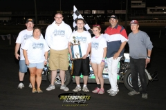 Josh May found his way to the Mod Lite victory lane on Monday, May 28, 2012, at Boone Speedway.