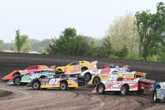 Racing action from Memorial Day, Monday, May 30, 2011 at Boone Speedway.