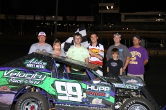 The dwarf car division saw Josh May take the checkers for the Memorial Day Special at Boone Speedway on Monday, May 30, 2011.