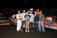 The Smith brother were victorious at Boone Speedway for the Memorial Day special on Monday, May 30, 2011.