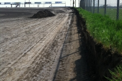 New front stretch wall