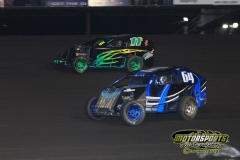 Mod lite action from Saturday, April 28, 2012, at Boone Speedway.