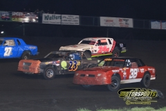IMCA Hobby Stock Action from Saturday, April 28, 2012, at Boone Speedway.